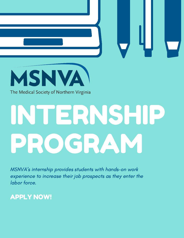 Intern Application - MSNVA